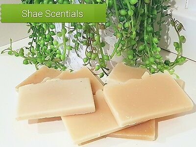 Goat Milk Soap Sample, Handmade, Fragrance Free, Cold Process, Shae Scentials