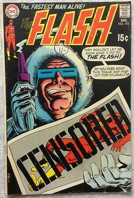 Flash #193 (DC 1969 1st series) 47 years old. VG+ Silver Age.