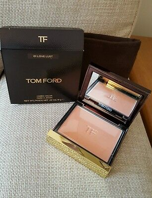 New Tom Ford Cheek Colour Powder Blusher In LOVE LUST