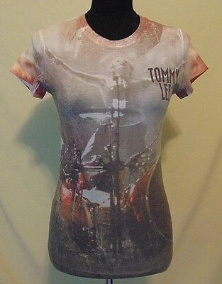 Motley Crue Tommy Lee Final Tour woman's T-Shirt tee size M