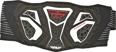 "Fly ""flight"" Kidney Support Belt Motorcycle Atv Black / White Youth - Closeout!"