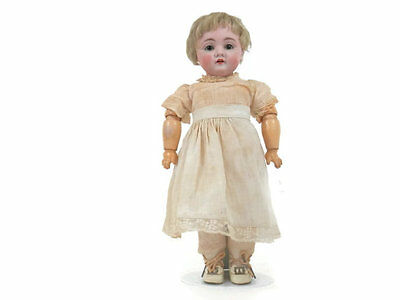 Antique Bisque Doll by Kestner Toddler with Original Chunky Body