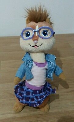 "Jeanette Ty Beanie Plush 9"" From Alvin and the Chipmunks"