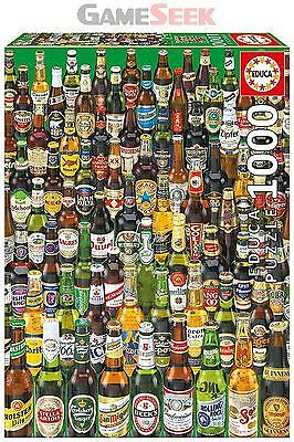 """Educa Borras 12736 """"beers"""" Puzzle (1000-Piece) - Toys Brand New Free Delivery"""
