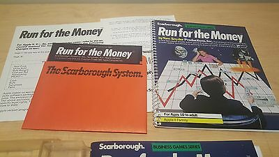 Vintage Run for the Money game for Apple II  64K