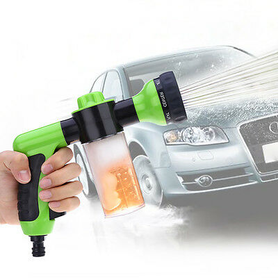Water Gun Car Washer Pressure High Spray Foam Nozzle Cleaning Wash Sprayer