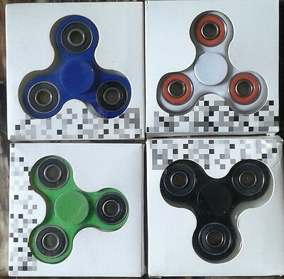 Fidget TRISpinner 1pc Stress Relief Focus Hand Finger Toy Kids Adults FREE SHIP