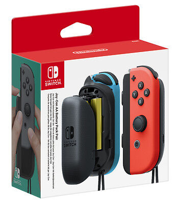 Nintendo Switch Joy-Con AA Battery Pack Pair - BRAND NEW & DIRECT FROM NINTENDO
