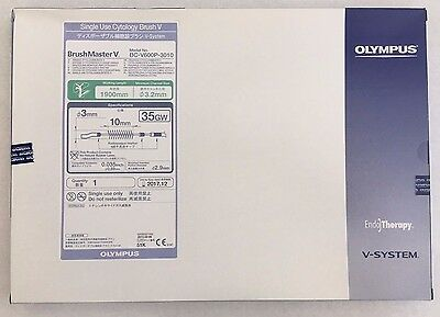 NEW Olympus Single Use Cytology Brush V Model No. BC-V600P-3010 Exp. 2017-12