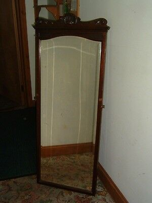 Antique LARGE victorian tall mirror