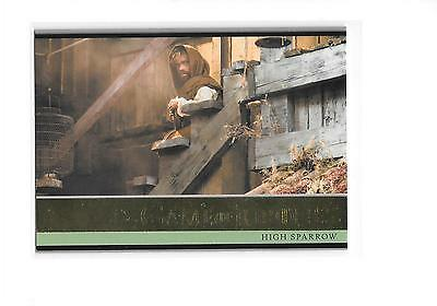 Game of Thrones Season 5 High Sparrow #9 Gold Parallel 20/150