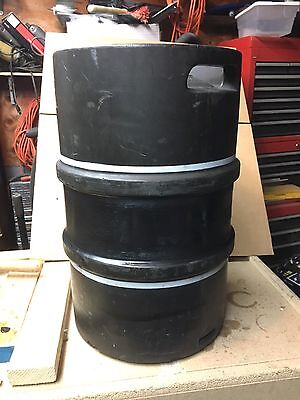 - 13.21 GALLON  50L STAINLESS STEEL EMPTY BEER KEG Rubber Covered