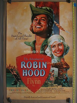 ADVENTURES OF ROBIN HOOD 1989R SS ROLLED 1sh Movie Poster