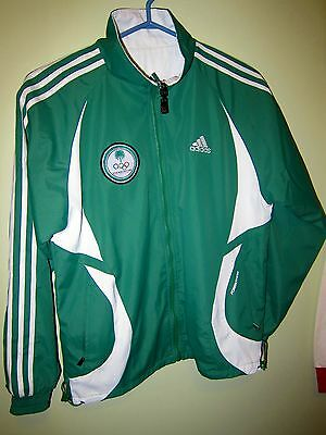 Team IRAQ National Olympic Committee issue Adidas reversible track top jacket M