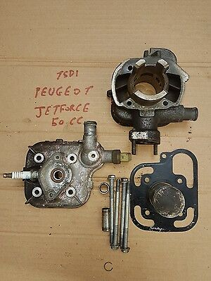 Peugeot Jetforce 50 TSDI Top End Cylinder ,head And Piston Complete