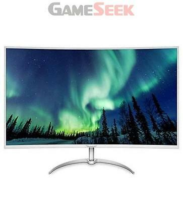 Philips Bdm4037Uw/00 40-Inch 4K Uhd 3840 X 2160 Curved Led Monitor - Silver New