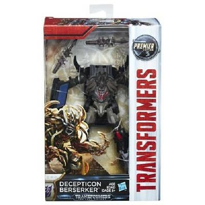 Brand New Transformers: The Last Knight Premier Edition Deluxe Berserker C1322