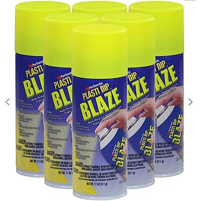 Plasti Dip Blaze Yellow - Case of 6 - No Tax & Ships from Canada