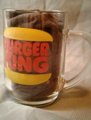 Burger King Hires Root Beer Vintage Glass Mug