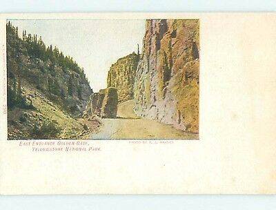 Divided-Back YELLOWSTONE National Park Wyoming WY HJ7650