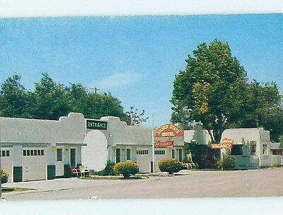 Unused Pre-1980 MOTEL SCENE Lovelock Nevada NV HJ8470