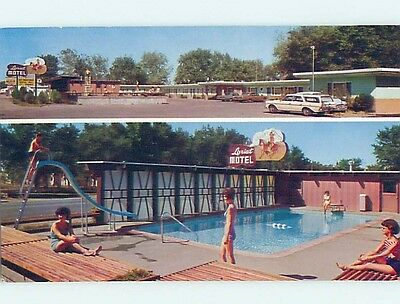 Unused Pre-1980 MOTEL SCENE Fallon Nevada NV HJ8466