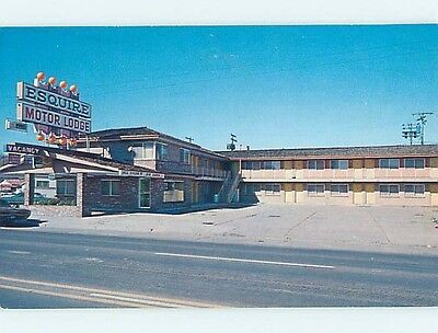 Unused Pre-1980 MOTEL SCENE Elko Nevada NV HJ9481