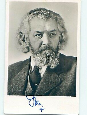 old rppc SIGNED AUTOGRAPHED BY PASSION PLAY ACTOR Oberammergau Germany HM1402