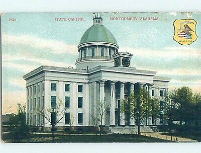 Unused Divided-Back POSTCARD FROM Montgomery Alabama AL HM6092