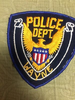Ohio POLICE-  Old Wayne  Police   OH Police Patch