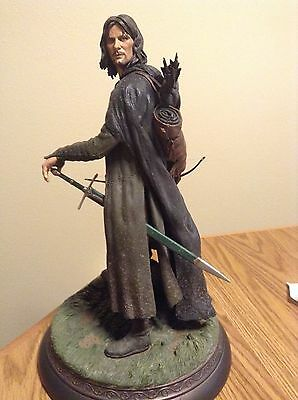 Sideshow ARAGORN AS STRIDER EXCLUSIVE Statue Lord of the Rings LotR Hobbit Rare