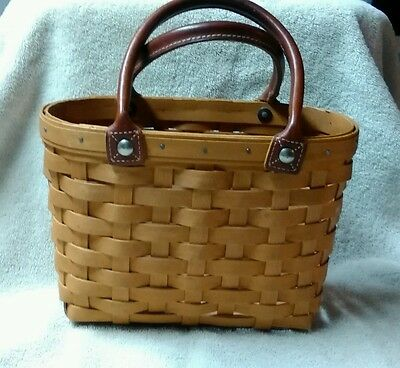 Longaberger Medium Boardwalk Basket