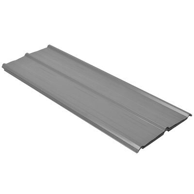 #vidaXL 12pcs Roof Panel Shed Stable Roofing Sheets 0.25mm Galvanised Steel Grey