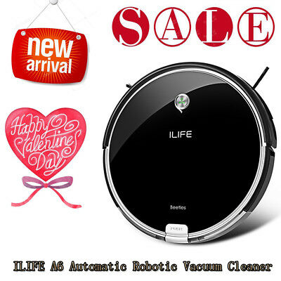 ILIFE A6 Smart Robotic Vacuum Cleaner Floor Sweeping Robot Auto Cleaning Machine