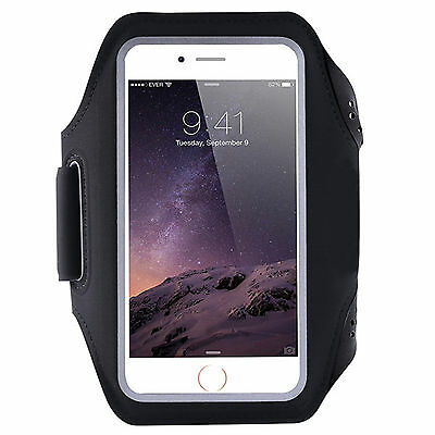 Universal Breathable Sports jogging running gym phone Armband arm strap 6 inch