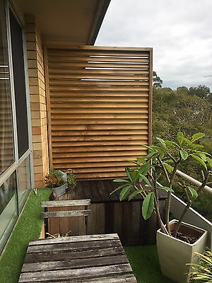 Timber Security/Privacy Screen
