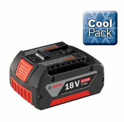 GENUINE Bosch 18v 4.0Ah Battery Lithium Ion Li-ion Cordless 4ah COOL PACK
