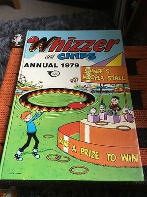The Whizzer and Chips Annual 1979