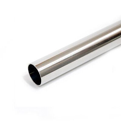 Stainless Steel Polished Straight Pipe 19.1mm / 1.1t / 1m 2-1