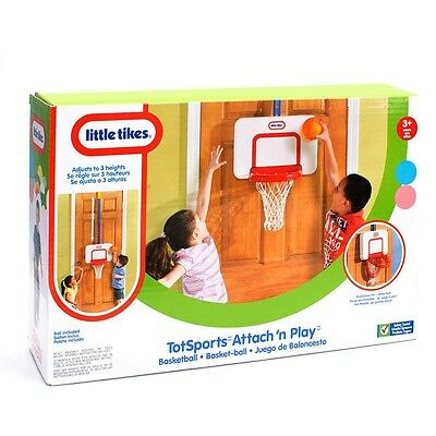 Brand New Little Tikes Totsports Attach N Play Basketball 622243