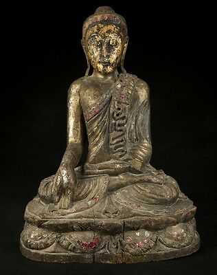 Early 20th Century old Burmese Buddha statue from Burma | Antique Buddha Statues