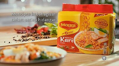 Instant Noodles - 2 Minutes Curry Maggi Mee 5+1 Packs
