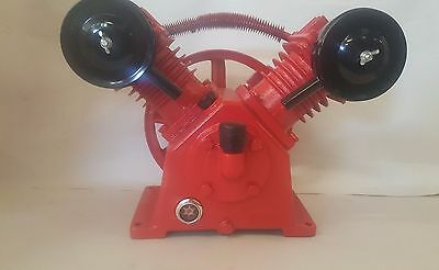 Air Compressor Pump 2 Cylinder 12Cfm Head 140Psi