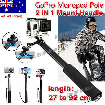 Floating Handheld Monopod Hand Grip Diving Handle Mount for GoPro Hero 5 4 3+3 2