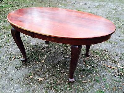 Queen Anne hardwood timber Dinning Table