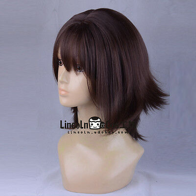 Final Fantasy Yuna Game Anime Costume Cosplay Wig +Free Track +Cap