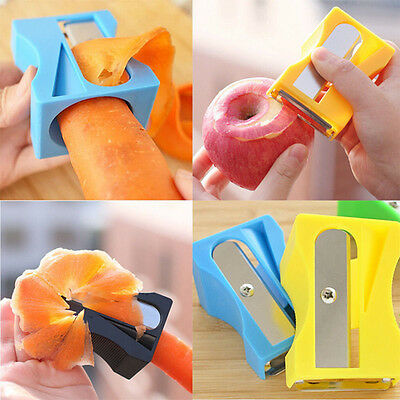 1PC Carrot Sharpener Peeler Thin Slices Kitchen Tool Vegetable Fruit Slicer