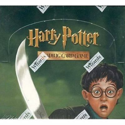 Harry Potter Ccg Chamber Of Secrets Sealed Booster Box Of 36 Packs