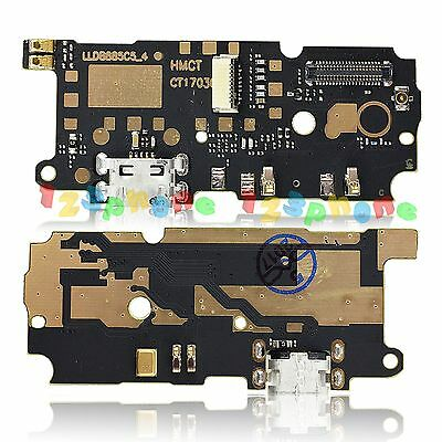 MIC + USB Charging Charger PCB Board Flex Cable For Xiaomi Redmi Note 4