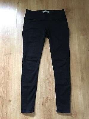 Black Topshop Maternity Skinny Trousers